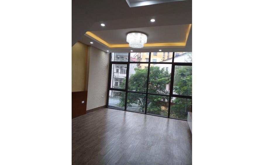 Bán nhà mới mặt phố Nguyễn Ngọc Nại 6 tầng 12 tỷ, thông sàn, kinh doanh.