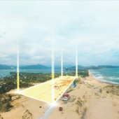 Chỉ với 7 triệu hơn/m2 sở hữu ngay lô đất, tiện xây homestay, khách sạn đất biển Phú Yên.