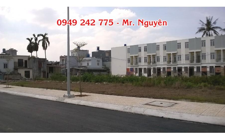 107 lô đất Thạnh Xuân 25, quận 12, giá 40 Tr/m2, từ 50 - 80m2, đường 11m, đã có sổ, Giấy phép xây dựng.