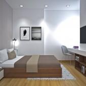 Bán gấp căn hộ 2PN Dĩ An, 56m2, 2PN tầng trung, hướng Nam - Thanh toán trước 160tr.