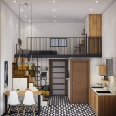 Cần tìm chủ cho căn hộ mini giá rẻ chỉ 290tr đã sở hữu riêng cho mình căn hộ với nội thất liền tường hiện đại