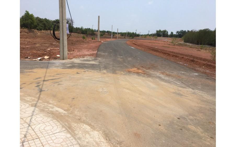 Bán đất mặt tiền đường đã có sổ hồng riêng tại Đồng Phú,Bình Phước