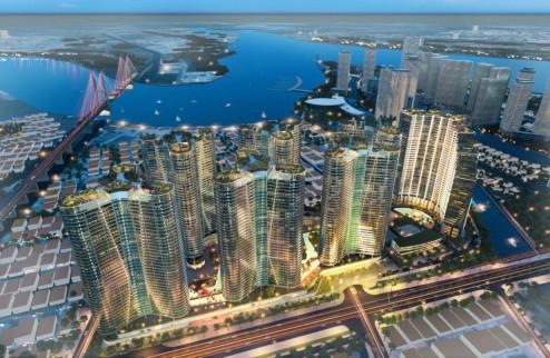 Căn hộ Resort Sunshine Diamond River 3 mặt giáp sông SG, tặng toàn bộ diện tích balcon