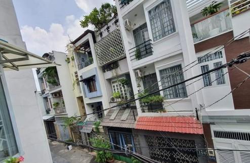 ✨ ✨ Bán nhà hẻm xe tải đường Bàu Cát,P12 Tân Bình.DT 80m,4Lầu.Gía chỉ 8,x Tỷ.