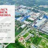 Cơ hội sở hữu đất nền sổ đỏ khu công nghiệp chỉ với 250tr