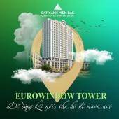 Cần bán căn hộ Eurowindow Tower Thanh Hóa 54m2 2 ngủ 1 vệ sinh